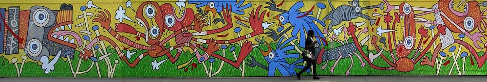 Haggerston mural